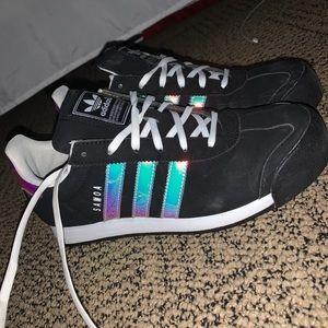 Holographic Black Samoa Adidas